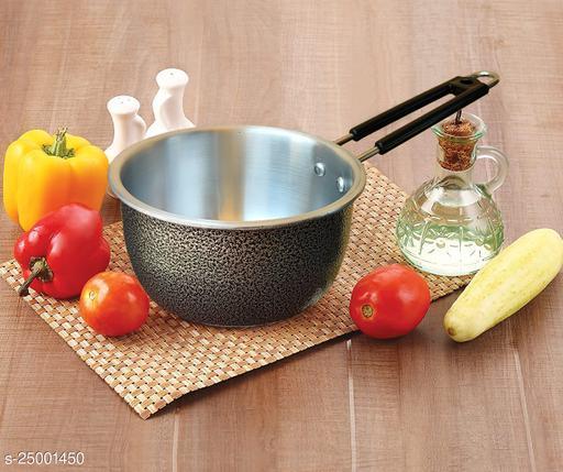 heavy quality aluminium tea Pan/Induction Sauce pan/Tea pan/milk pan / multy purpose pan etc.