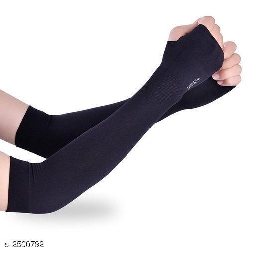 Trendy Unisex Nylon Lycra Arm Sleeve
