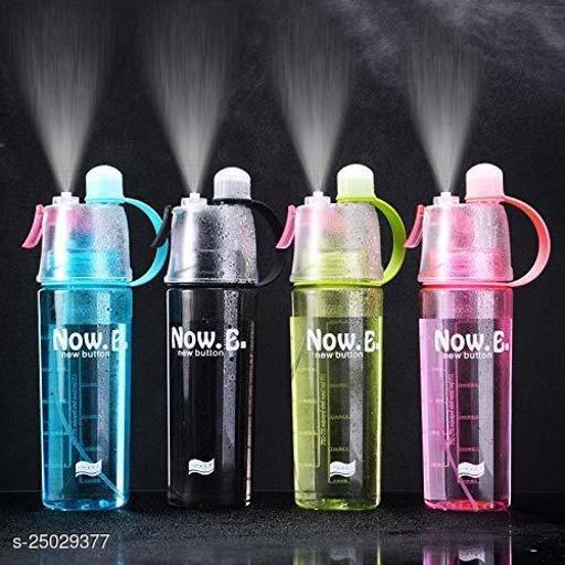 Tornado New B Water Drinking Bottle With Cool Fresh Spray Black