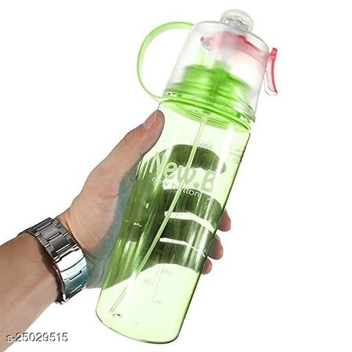 Tornado New B Water Drinking Bottle With Cool Fresh Spray Green