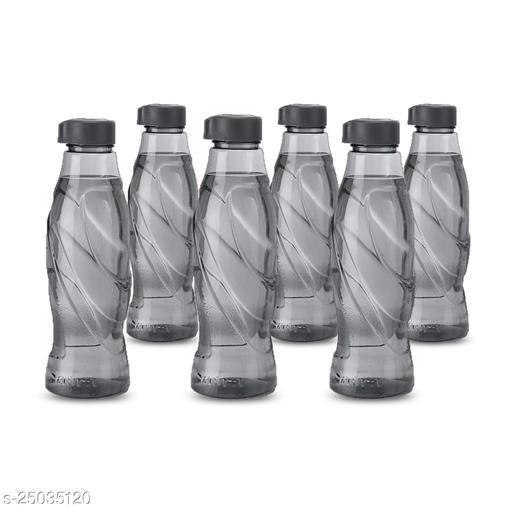 Saura Duke Fridge Bottle 1000 ml Set of 6 Smoke Black