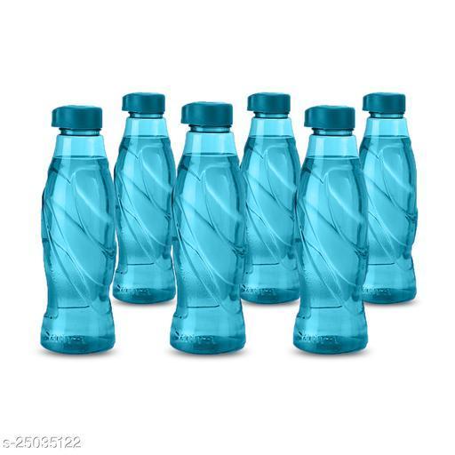 Saura Duke Fridge Bottle 1000 ml Set of 6 Blue