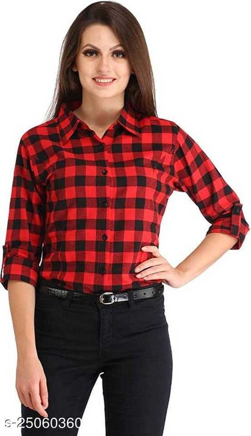 Designer Women's Crepe Shirts