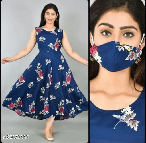Urbane Fashionable Women gown