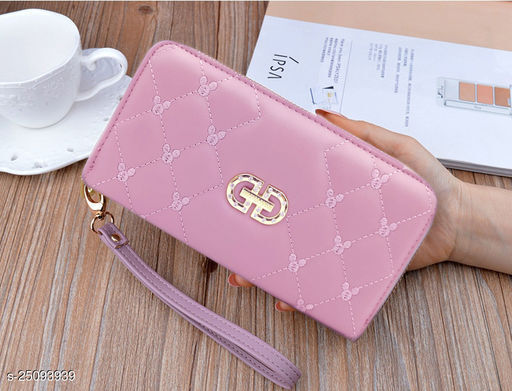 Beautiful Women's Pink Wallet