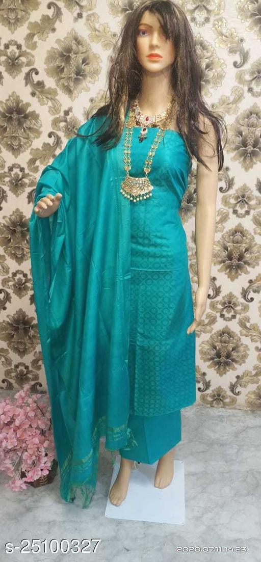 for women katan silk weaving designer suit drees material fabric