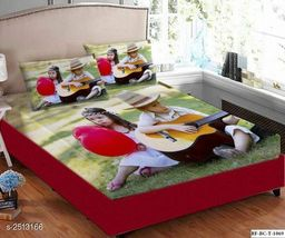 Hut Impluse Velvet Double Bedsheet