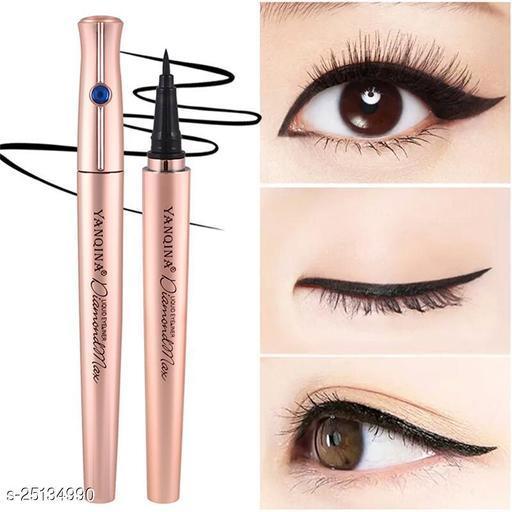 YANIQA Pen Waterproof  YANQINA Eyeliner Black Pencil  for Personal, Raw Pack 1