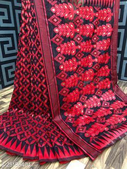 Dhakai jamdani saree kolkata traditional saree