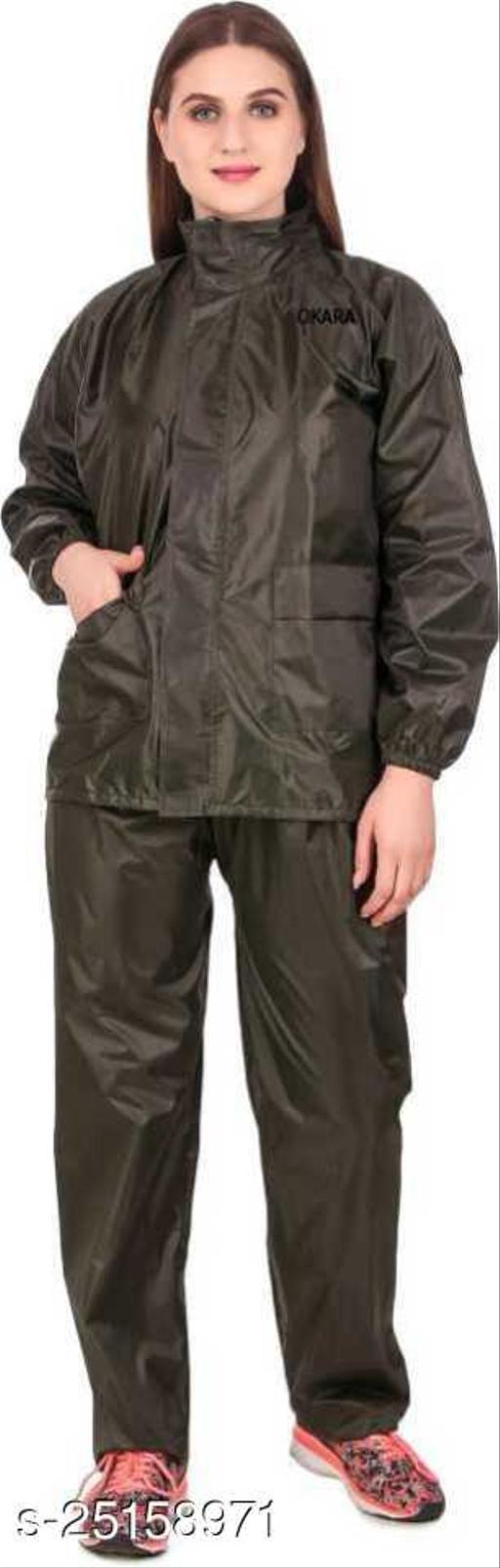 Rain coat ,Waterproof garments ,Barsati ,Rainsuits ,Rainwear, Polyster rainsuit