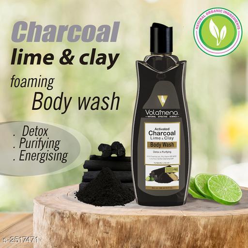 Volamena  Charcoal lime clay body wash 300 ml