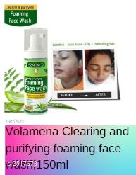 Volamena Clearing and purifying foaming face wash,150ml