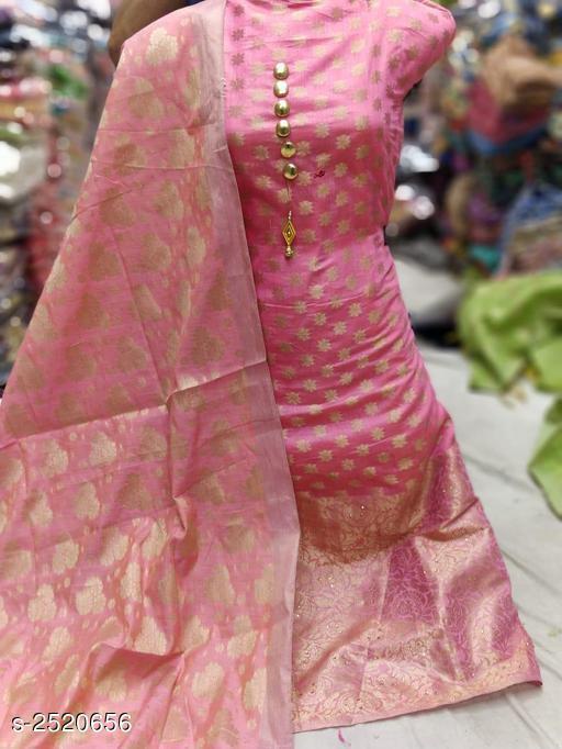 Ravishing Banarasi Silk Suits & Dress Material