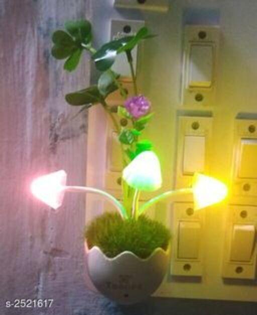 Green Grass LED Night Lamp