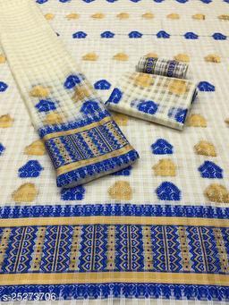 mekhela chador  cotton