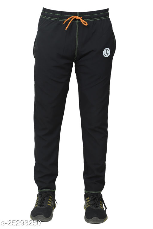 HT NS Lycra Straight Fit Trackpants for Men