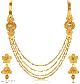 ETHIC GOLD PLATED NECKLACE JEWELLERY SET