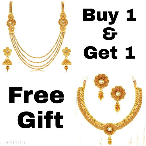 BUY ONE GET ONE FREE OFFER FOR COMBO JEWELERY SET