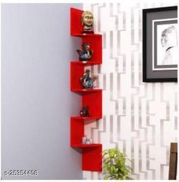Wall Corner Zig Zag wall shelves