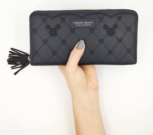 Women Wallets Clutch Purse hand held Wallets for Girls Latest Stylish Treding Wallet  zipper wallets leather credit card holder