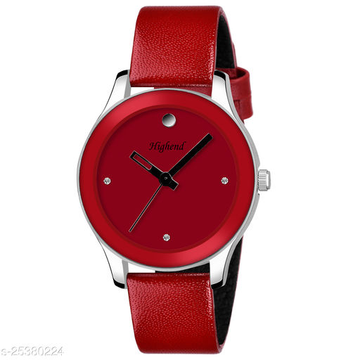 Dail Color: Red Strap Color: Red Case Material: Stainless Steel