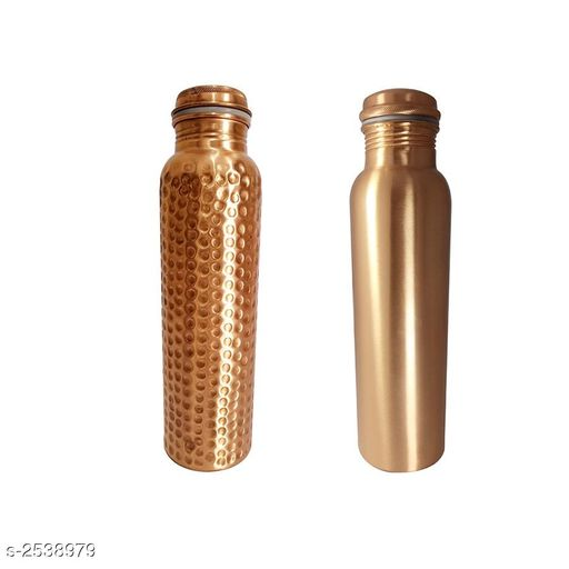 Trendy Copper Bottles Pack Of 2
