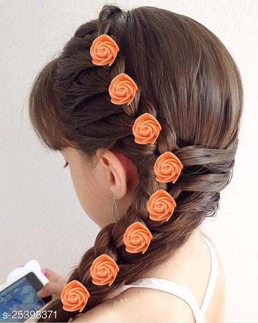 QUEEN Flower Hair Pins