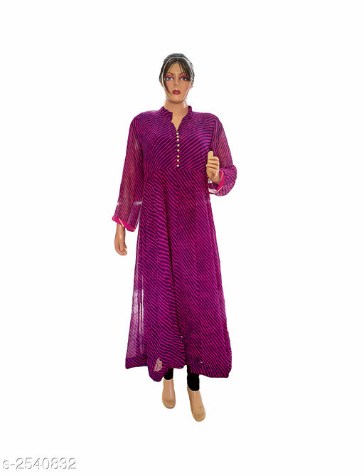 Kurtis & Kurtas Elegant Style Printed Kurti  *Fabric* Georgette  *Sleeves* 3/4 Sleeve Are Included  *Size* XL- 42 in  *Length* Up To 48 in  *Type* Stitched  *Description* It Has 1 Piece Of Women's Kurti  *Work* Printed  *Sizes Available* XL   Supplier Rating: ★3.8 (401) SKU: Kurti---4023  Free shipping is available for this item. Pkt. Weight Range: 300  Catalog Name: Allure Elegant Style Printed Kurtis vol 8 - Ard Fashion Code: 019-2540832--
