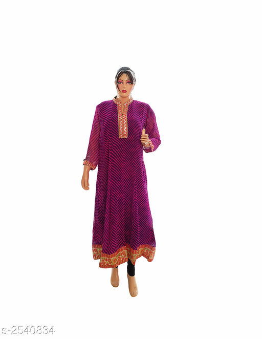 Kurtis & Kurtas Elegant Style Printed Kurti  *Fabric* Georgette  *Sleeves* 3/4 Sleeve Are Included  *Size* XL- 42 in  *Length* Up To 48 in  *Type* Stitched  *Description* It Has 1 Piece Of Women's Kurti  *Work* Printed  *Sizes Available* XL   Supplier Rating: ★3.8 (401) SKU: Kurti---4025  Free shipping is available for this item. Pkt. Weight Range: 300  Catalog Name: Allure Elegant Style Printed Kurtis vol 8 - Ard Fashion Code: 019-2540834--
