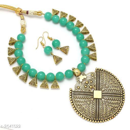 Beautiful Metal Jewellery Set