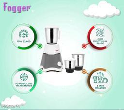 Fogger Grey Star Mixer Grinder 500 Watt, 3 Jar