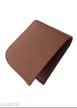 Fashlook Brown Curve Wallet For Men