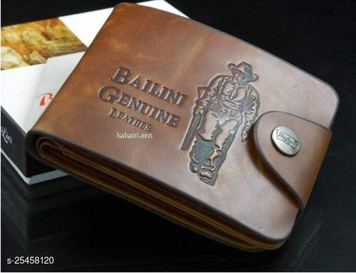 Fashlook Tan Bailini Wallet For Men