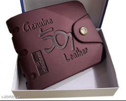 Fashlook Brown 501 Wallet For Men