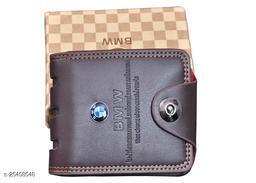 Fashlook Brown BMW Wallet For Men