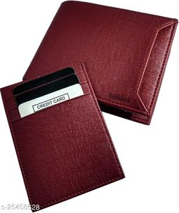 Fashlook Brown Chip Wallet For Men