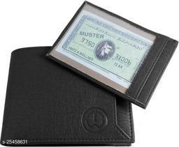 Fashlook Black Chip Wallet For Men