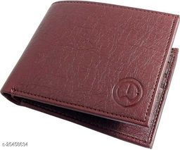 Fashlook Brown Album Wallet For Men