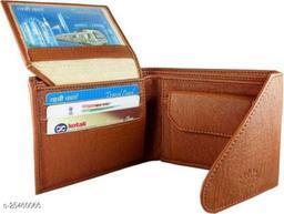Fashlook Tan Chaaku Wallet For Men
