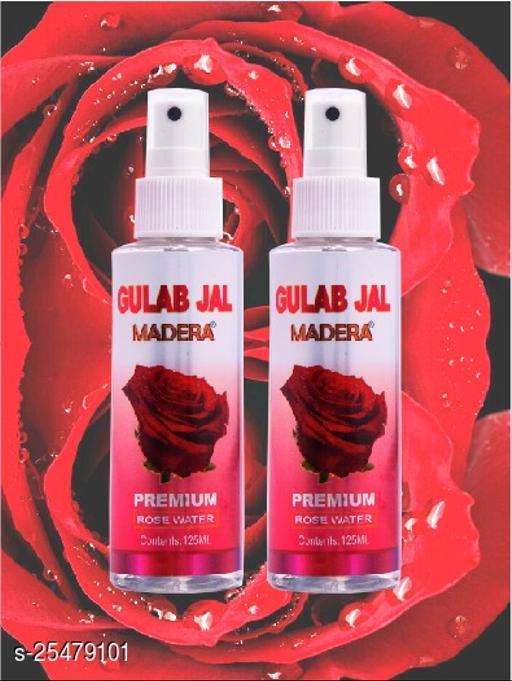 Madera Rose Water 125ml Spray Pac Of 2