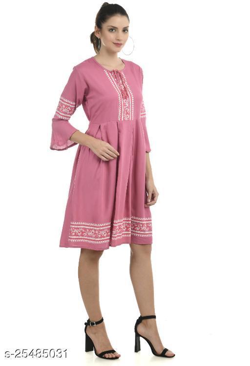 Women Dress Pink