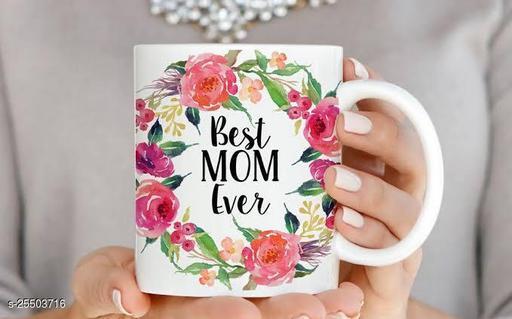 VEENI BEST MOM EVER DESIGN PRINTED COFFEE TEA MILK MUG