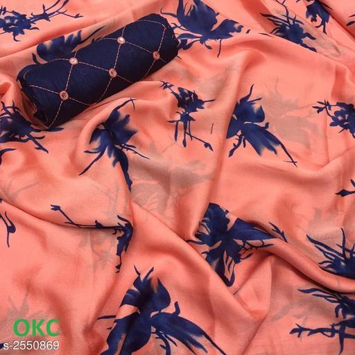 Elegant Silk Chiffon Women's Sarees