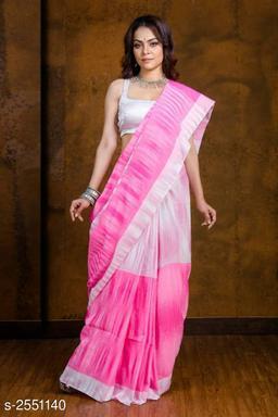 Alluring Khadi Cotton Saree
