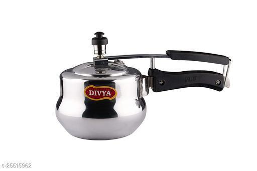 DIVYA Baby Handi Aluminium Pressure Cooker (1 Litre)