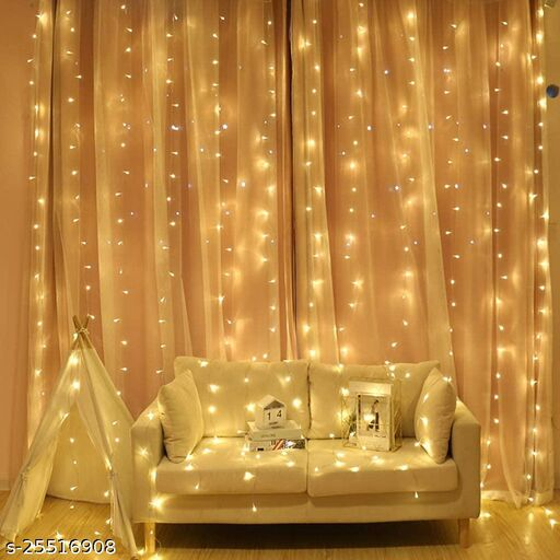 Tradehood (Warm White) Powered Copper Wire LED String Rice Light for Diwali Decoration, Home Décor , Diwali, Christmas Tree, Festival Decoration Lights