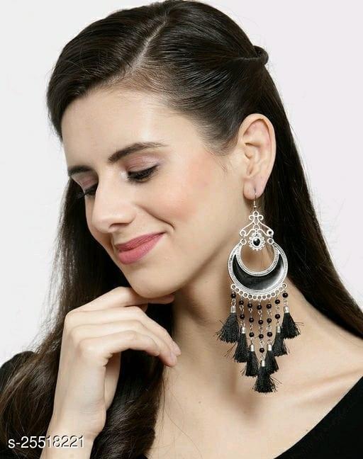 Tassel Stylish Fancy Party Wear Earrings for Women & Girls