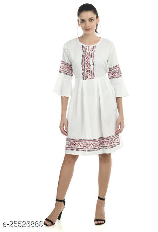 Women Dress White