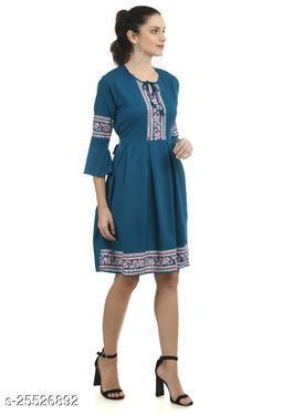 Women Dress Blue