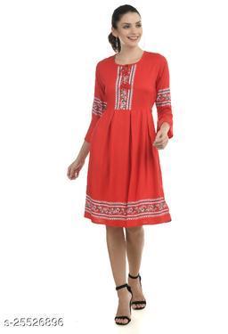 Women Dress Red